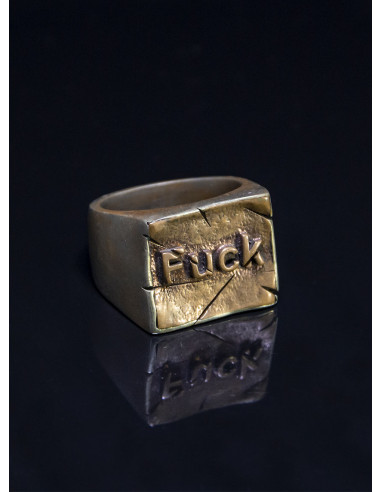 кольцо Fuck